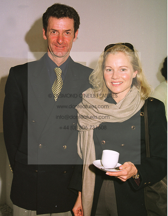 MR & MRS MARK TODD he is the leading 3 day eventer, at a reception in London on 25th March 1999.MPR 30