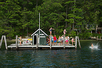 Mail Boat Sophie C on her route around the islands of Lake Winnipesaukee.  Karen Bobotas for the Laconia Daily Sun