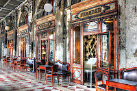 Famous Café Florian, Piazza San Marco, Venice, Italy