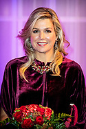 ROTTERDAM -  Queen Maxima meet the Cape Verdean president Jorge Carlos de Almeida Fonseca and his wife at the Cruis terminal for a concert. Fonseca is in the Netherlands for a two-day state visit. copyrught robin utrecht
