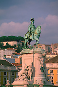 Lisbon, King Jose 1, Praco (Plaza) Do Comercio, Portugal<br />