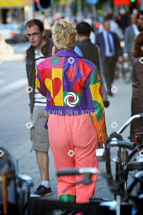 AMSTERDAM - Op de Stadshouderkade in People Place is de lancering van de nieuwe vrouwenzender TLC gelanceerd. Met op de rode loper  Cindy Pielstroom. FOTO LEVIN DEN BOER - PERSFOTO.NU