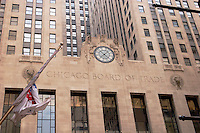 Chicago Board of Trade Building Facade, Chicago, Illinois
