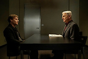 """Dead Letter"" – The NCIS team, alongside the FBI and MI6, continue an international manhunt for an escaped British spy who has left one colleague fighting for their life in ICU, on NCIS, Tuesday, May 10 (8:00-9:00 PM, ET/PT), on the CBS Television Network. Sarah Clarke guest stars as FBI Special Agent Tess Monroe and Duane Henry guest stars as MI6 Officer Clayton Reeves. Pictured: Vince Nappo as David Scott,  Mark Harmon as Jethro Gibbs.   Photo: Jace Downs/CBS ©2016 CBS Broadcasting, Inc. All Rights Reserved"