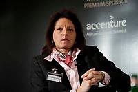 """01 DEC 2010, BERLIN/GERMANY:<br /> Dr. Angelika Dammann, Vorstandsmitglied SAP, Veranstaltung """"CAPITAL Gipfel Generation CEO 2010"""" zum Thema """"DIe Frauen, die Wirtschaft und die Quote"""", Hotel de Rome<br /> IMAGE: 20101201-02-083"""