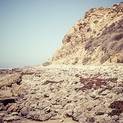 Crystal Cove State Park cliff picture. Crystal Cove State Park is located along the Pacific Ocean in Laguna Beach, Orange County, California. Image Copyright © Paul Velgos All Rights Reserved.