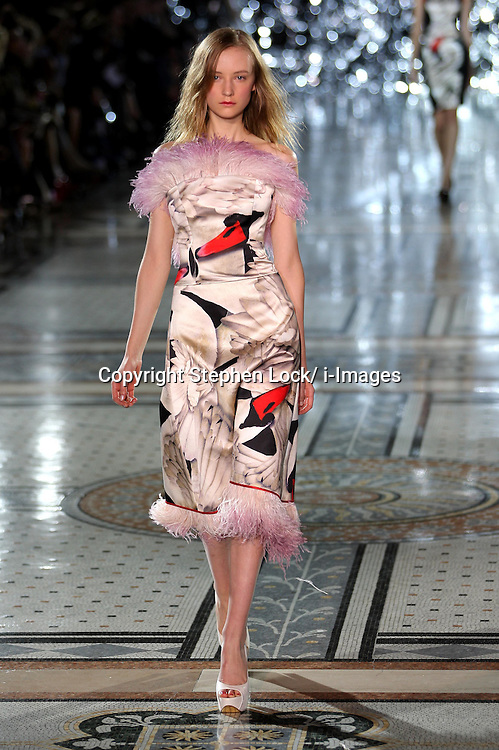 Giles show at London Fashion Week, Monday, 19th September 2011Photo by: Stephen Lock/i-Images