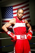 6/24/11 2:59:10 PM -- Colorado Springs, CO. -- A portrait of U.S. Olympic lightweight boxer Queen Underwood, 27, of Seattle, Wash. who will be competing for her fifth title. She began boxing in 2003 and was the 2009 Continental Champion and the 2010 USA Boxing National Champion. She is considered a likely favorite to medal at the 2012 Summer Olympics in London as women's boxing makes its debut as an Olympic sport. -- ...Photo by Marc Piscotty, Freelance.