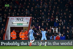 Goal, Raheem Sterling of Manchester City scores, Bournemouth 0-1 Manchester City - Mandatory by-line: Jason Brown/JMP - 13/02/2017 - FOOTBALL - Vitality Stadium - Bournemouth, England - Bournemouth v Manchester City - Premier League