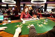 London, Maggio 2012 - Casino Aspers. La massima concentrazione  viene raggiunta durante le varie fasi del gioco.