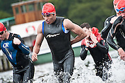Triathlon on Ullswater, Lake District