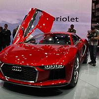 Audi Nanuk Quattro concept (2013) at the IAA 2013, Frankfurt, Germany