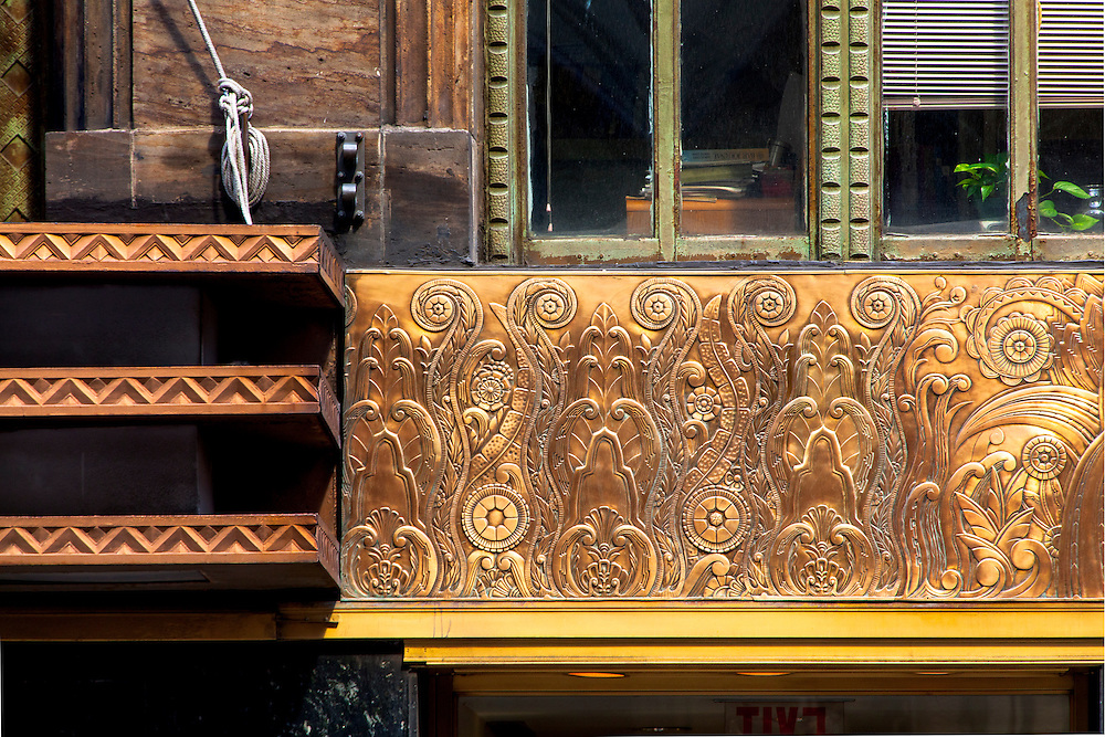 A highly detailed bronze frieze depicting evolution encircles most of the second floor of the Chanin Building, a now oft-overlooked Art Deco skyscraper that was briefly, in the late 1920s, the tallest building in the world.