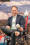 Bestselling-author Anthony Horowitz (pictured )  opens proceedings by having his portrait taken in Bill Jackson's On The Beach - a Pop-Up Studio in which the artist will take portrait photographs of visitors to the Fair against a montage backdrop of Aldeburgh Beach - Caroline Wiseman Modern and Contemporary (Stand 53). London Art Fair for Modern British and contemporary art brings its 28th edition at the Business Design Centre, Islington, from 20-24 January 2016. The Fair includes 126 exhibitors ranging from established UK-based Modern British and contemporary galleries. Highlights include: Colin Davidson's portrait of Angela Merkel – the first UK showing of this iconic work, commissioned from the Irish artist by TIME magazine for their 2015 'person of the year' edition. The portrait is being hung alongside a new, unseen portrait of the British actor Simon Callow - Oliver Sears Gallery (Stand 42);; Viole, a large sculptural work by German born artist Dietrich Klinge, will be included as part of Venet-Haus Galerie's presentation - Venet-Haus Galerie (stand 4).