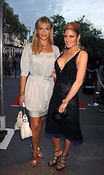 Left to right, LIZ FULLER and HOFIT GOLAN at a reception to launch Montblanc's First Fine Jewellery Collection held at The Victoria & Albert Museum, Cromwell Road, London SW7 on 24th April 2007.<br /><br />NON EXCLUSIVE - WORLD RIGHTS