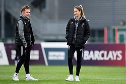 Ellie Strippel and Georgia Wilson - Mandatory by-line: Ryan Hiscott/JMP - 24/11/2019 - FOOTBALL - Stoke Gifford Stadium - Bristol, England - Bristol City Women v Manchester City Women - Barclays FA Women's Super League