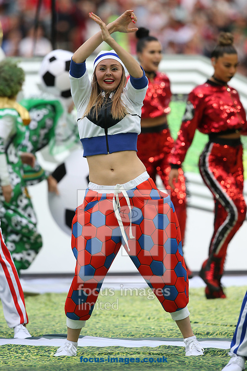 A dancer performs during the opening ceremony of FIFA World Cup Russia 2018 at Luzhniki Stadium, Moscow<br /> Picture by Paul Chesterton/Focus Images Ltd +44 7904 640267<br /> 14/06/2018