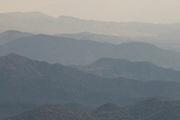 Misty mountains on the edge of the Omo valley,Ethiopia,Africa