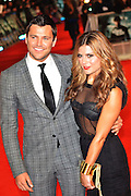 24.JANUARY.2012. LONDON<br /> <br /> MARK WRIGHT AND ZOE HARDMAN AT THE WOMAN IN BLACK PREMIERE HELD AT THE ROYAL FESTIVAL HALL IN LONDON<br /> <br /> BYLINE: EDBIMAGEARCHIVE.COM<br /> <br /> *THIS IMAGE IS STRICTLY FOR UK NEWSPAPERS AND MAGAZINES ONLY*<br /> *FOR WORLD WIDE SALES AND WEB USE PLEASE CONTACT EDBIMAGEARCHIVE - 0208 954 5968*