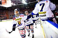 Ishockey , 19. Januar 2014, GET-Liga ,<br /> Vålerenga Hockey - Sparta Warriors<br /> Patrick André Bovim og Dion Knelsen <br /> Foto: Sjur Stølen , Digitalsport
