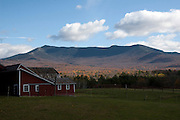 Mt. Mansfield, Vermont from Irish Settlement Road in Vermont in the fall