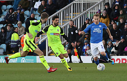 Louis Reed of Peterborough United in action with Jason Lowe and Luke Murphy of Bolton Wanderers - Mandatory by-line: Joe Dent/JMP - 14/12/2019 - FOOTBALL - Weston Homes Stadium - Peterborough, England - Peterborough United v Bolton Wanderers - Sky Bet League One