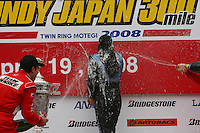 Danica Patrick, Indy Japan 300, Twin Ring Motegi, Motegi, Japan, 4/20/2008