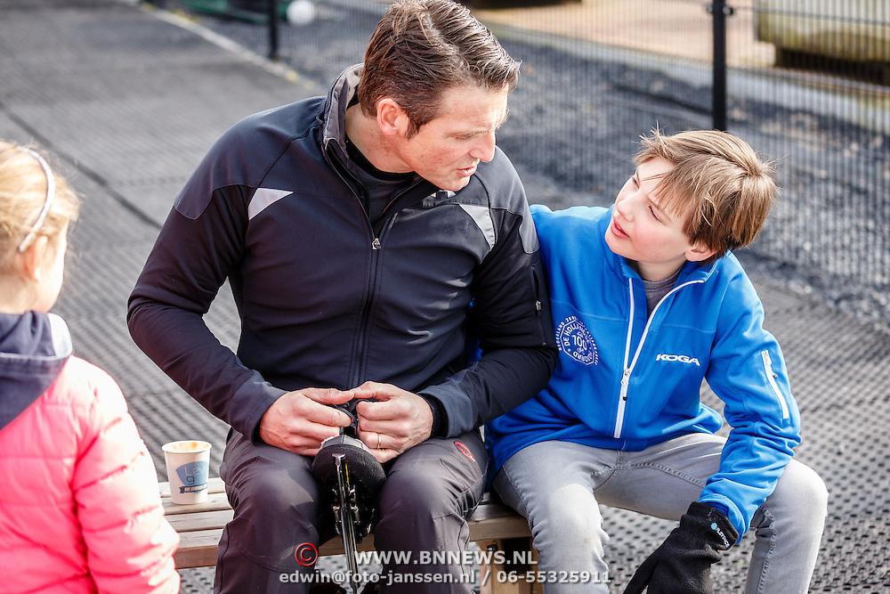 NLD/Biddinghuizen/20160306 - Hollandse 100 Lymphe & Co 2016, Pr. Maurits en zoon Lucas