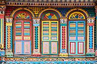 Singapour, le quartier de Little India, la maison de Tan Teng Niah construite en 1910 // Singapore, Little India, Heritage Villa, former home of Tan Teng Niah built in 1910