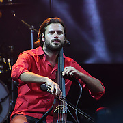 2CELLOS from Croatia perform live at Kew The Music Festival 2018 on 12th July 2018, London, UK.