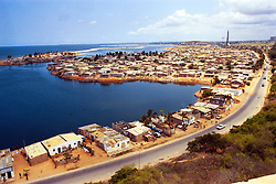 The capital of Luanda in Angola is shown in this file photo.  President Jose Eduardo dos Santos, who has led Angola since 1979, said he would not run in presidential elections planned for next year.  Angola's brutal 26 year-civil war has displaced around two million people - about a sixth of the population - and 200 die each day according to United Nations estimates. .(Photo by Ami Vitale)