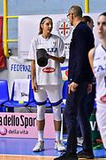 Sabrina Cinili<br /> Italia Italy - Repubblica Ceca Czech Republic<br /> FIBA Women's Eurobasket 2021 Qualifiers<br /> FIP2019 Femminile Senior<br /> Cagliari, 14/11/2019<br /> Foto L.Canu / Ciamillo-Castoria