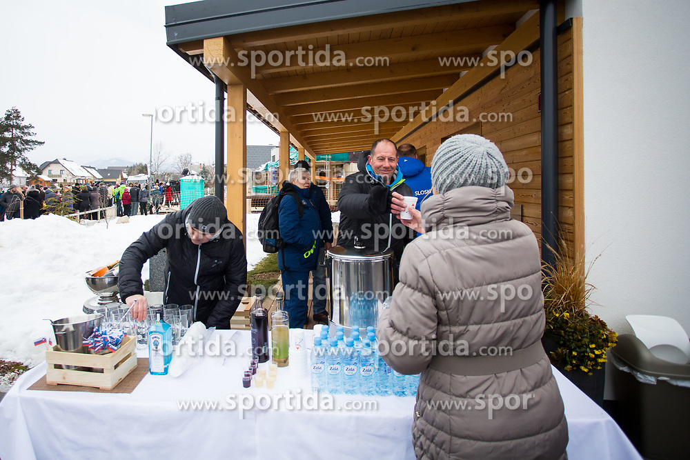 during Presentation of new house of Jakov Fak, made by Lumar, on February 26, 2018 in Lesce, Lesce, Slovenia. Photo by Ziga Zupan / Sportida