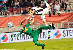 09.05.2018, Woerthersee Stadion, Klagenfurt, AUT, OeFB Uniqa Cup, SK Puntigamer Sturm Graz vs FC Red Bull Salzburg, Finale, im Bild v.l. Cican Stankovic (FC Red Bull Salzburg), Stefan Hierländer (SK Puntigamer Sturm Graz) // during the final match of the ÖFB Uniqa Cup between SK Puntigamer Sturm Graz and FC Red Bull Salzburg at the Woerthersee Stadion in Klagenfurt, Austria on 2018/05/09. EXPA Pictures © 2018, PhotoCredit: EXPA/ Johann Groder
