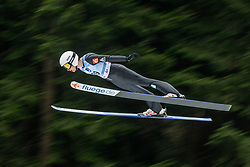 CLAIR Julia (FRA) during first round on day 2 of  FIS Ski Jumping World Cup Ladies Ljubno 2020, on February 23th, 2020 in Ljubno ob Savinji, Ljubno ob Savinji, Slovenia. Photo by Matic Ritonja / Sportida