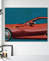Interior decoration idea of what you can do with the Iconic and Classic cars series of the artist Jan Keteleer.<br /> Various finishes such as canvas, acrylic, framed or simply as a poster available at Fine Art America, Oh My Prints and Werk aan de Muur.<br /> His work is delivered worldwide <br /> -<br /> BUY PRINTS OF THIS COLLECTION AT<br /> <br /> FINE ART AMERICA<br /> ENGLISH<br /> https://janke.pixels.com/<br /> <br /> WADM / OH MY PRINTS<br /> DUTCH / FRENCH / GERMAN<br /> https://www.werkaandemuur.nl/index/shop/nl/Jan-Keteleer/shop/1846