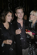 Tracey Emin, Scott Douglas and Daisy Bates, Dom Perignon and Exit present Room service, an exhibition of photographs featuring Eva Herzigova  by Karl Largerfeld. -DO NOT ARCHIVE-© Copyright Photograph by Dafydd Jones 66 Stockwell Park Rd. London SW9 0DA Tel 020 7733 0108 www.dafjones.com