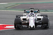 February 26, 2017: Circuit de Catalunya. Lance Stroll, Williams Martini Racing, FW40
