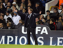 09.03.2011, White Hart Lane, London, ENG, UEFA CL, Tottenham Hfc vs AC Milan, im Bild Harry  Redkanpp manager of Spurs   during Tottenham Hfc vs AC Milan for the last 16 round of the UCL at White Hart Lane   in London on 09/03/2011. EXPA Pictures © 2011, PhotoCredit: EXPA/ IPS/ Marcello Pozzetti +++++ ATTENTION - OUT OF ENGLAND/UK and FRANCE/FR +++++