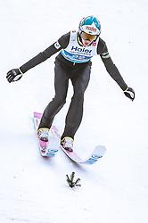 22.02.2019, Bergiselschanze, Innsbruck, AUT, FIS Weltmeisterschaften Ski Nordisch, Seefeld 2019, Skisprung, Herren, im Bild Eetu Nousiainen (FIN) // Eetu Nousiainen of Finland during the men's Skijumping of FIS Nordic Ski World Championships 2019. Bergiselschanze in Innsbruck, Austria on 2019/02/22. EXPA Pictures © 2019, PhotoCredit: EXPA/ Dominik Angerer