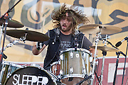 Jason Wilson of the band Sleeper Agent performs during The Silopanna Music Festival at the Anne Arundel County Fairgrounds in Crownsville, MD on Saturday, August 16, 2014.