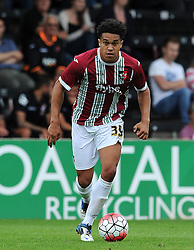 Exeter City's Troy Brown - Photo mandatory by-line: Harry Trump/JMP - Mobile: 07966 386802 - 18/07/15 - SPORT - FOOTBALL - Pre Season Fixture - Exeter City v Bournemouth - St James Park, Exeter, England.