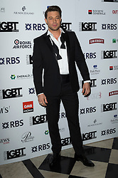 © Licensed to London News Pictures. 13/05/2016. DUNCAN JAMES attends the British LGBT Awards 2016. London, UK. Photo credit: Ray Tang/LNP