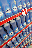 Dish washing detergent for $1 at a Family Dollar store in Chicago, Illinois.