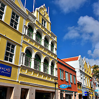 Shopping Districts in Punda, Eastside of Willemstad, Cura&ccedil;ao  <br />