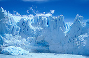 the stunning and expandning glacier in the Los Glaciares National Park, Patagonia, Argentina