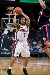 Virginia guard Mustapha Farrakhan (2)..The Virginia Cavaliers men's basketball team faced the Howard Bison at the John Paul Jones Arena in Charlottesville, VA on November 14, 2007.