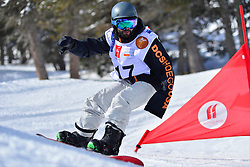 Europa Cup Finals Banked Slalom, HAMOU Jonathan, FRA at the 2016 IPC Snowboard Europa Cup Finals and World Cup