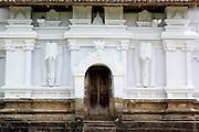 Side door to devale at Lankatilake Temple. Kandy