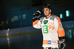 10.08.2015, Red Bull Akademie Liefering, Salzburg, AUT, EBEL, Medien Tag, im Bild Daniel Woger (Graz99ers) // during the Erste Bank Icehockey League Media Da at the Red Bull Football and Icehockey Academy Liefering in Salzburg, Austria on 2015/08/10. EXPA Pictures © 2015, PhotoCredit: EXPA/ JFK